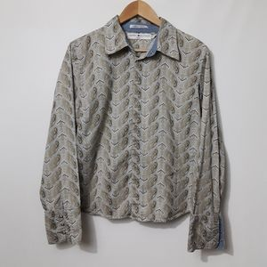 Tommy Hilfiger Snap Button Paisley Button-Down